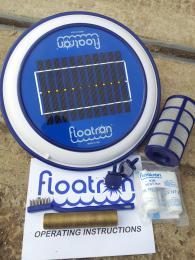 FLOATRON - solární èištìní-ionizanice vody