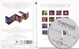 Foreigner - All Access Tonight (Live In Concert 25) DVD