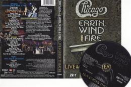 Chicago & Earth, Wind & Fire - Live at the Greek Theatre DVD