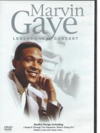 Marvin Gaye - Legends In Concert DVD - zvìtšit obrázek