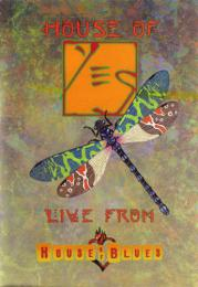 Yes ‎- House Of Yes Live From House Of Blues DVD